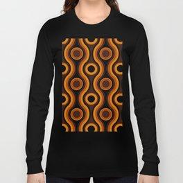 Older Patterns ~ Waves 70s Long Sleeve T-shirt