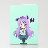 chibi Stationery Cards featuring Chibi by Alice