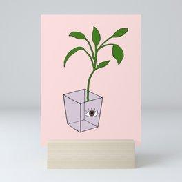 All Seeing Eye Plant Mini Art Print