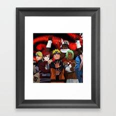 jinchuriki Framed Art Print