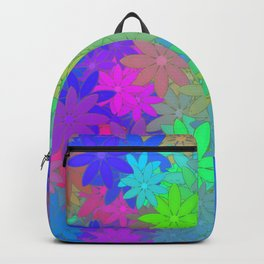 The silent of flowers ... Backpack