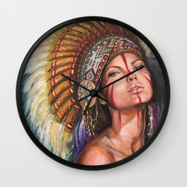 Sioux  Wall Clock
