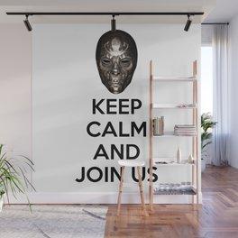 Keep Calm And Jon Us Wall Mural