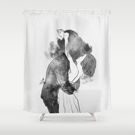 Introduce me to your universe. Shower Curtain