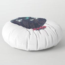 The Most Beautiful Night of All Floor Pillow