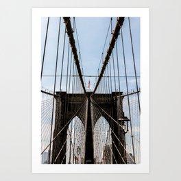 Brooklyn Born and Raised Art Print