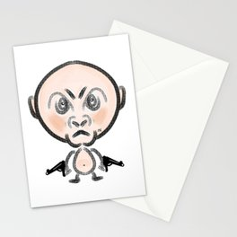 Gangster Baby Stationery Cards