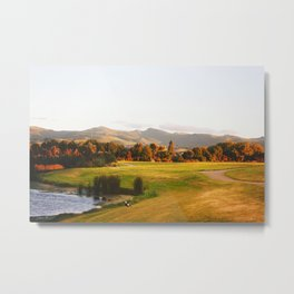 Sunset at 9pm Metal Print