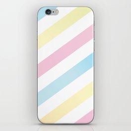 Happy Stripes iPhone Skin
