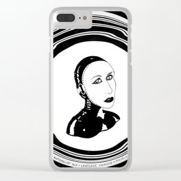 WOLFE MASK Clear iPhone Case