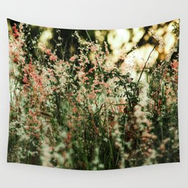 Flowers in the sun Wall Tapestry