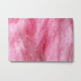 Pink Cotton Candy Metal Print