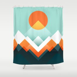 Everest Shower Curtain