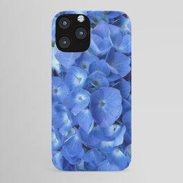 Gorgeous Baby Blue Hydrangeas  Floral Art iPhone Case