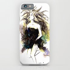 Watercolor Girl Slim Case iPhone 6s