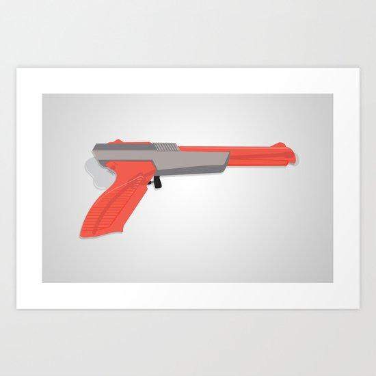 squirt zapper. Art Print