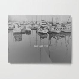 Fokkin Boats, M8 Metal Print