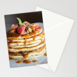 Pancakes and Syrup Stationery Cards