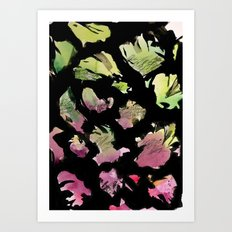 blossom note 1 Art Print