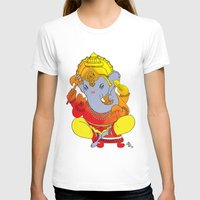 ganesh T-shirts featuring Ganesh  by xDiNKix