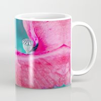 poppy Mugs featuring POPPY by VIAINA