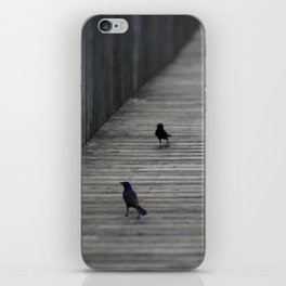Black Birds iPhone Skin