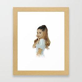 ariana desain 006 Framed Art Print