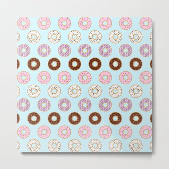 Doughnut Polka Metal Print