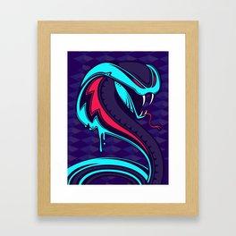 Kobra Framed Art Print