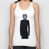surrealism Tank Tops featuring Optimistic Surrealism by PandaGunda