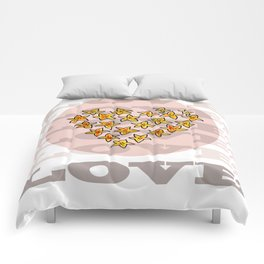 LOVE XX Comforters