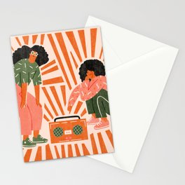 Dance, babe Stationery Cards