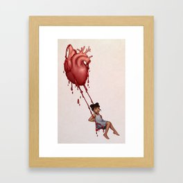 Lovesick Framed Art Print