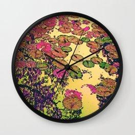 Searose leaves 2 Wall Clock