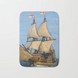 Black Sails Bath Mat