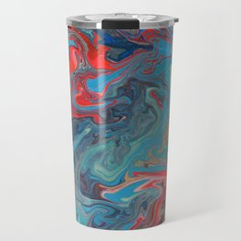 Abstract Oil Painting 20 Travel Mug