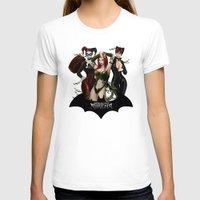 selena T-shirts featuring the Gotham Sirens by Esteban Barrientos