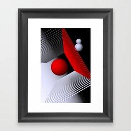 3D-geometry -1- Framed Art Print