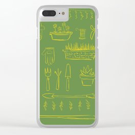 Gardening and Farming! Clear iPhone Case