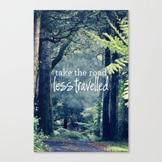 Take The Road Less Travelled Canvas Print