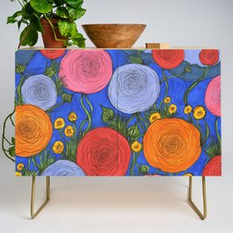 Colors in the Blue Ridge Mountains Credenza