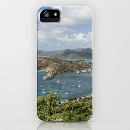 English Harbor as Seen from Shirley Heights - Antigua iPhone Case