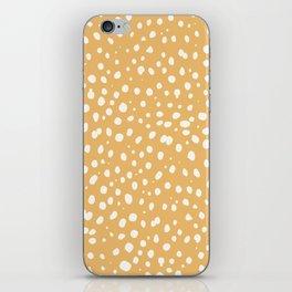 LEOPARD YELLOW iPhone Skin