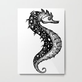 Hippocampus, little fella Metal Print