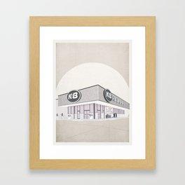 I Assure You, We're Open (clerks) Framed Art Print