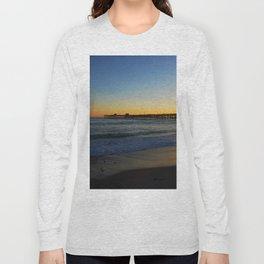 San Clemente Ca pier sunset Long Sleeve T-shirt