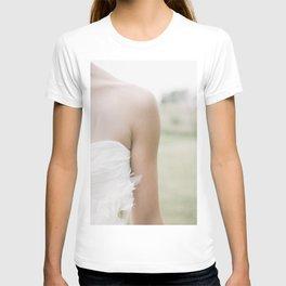 Bride at a wedding ceremony T-shirt