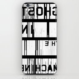 Ghost in the Machine (Inverted) iPhone Skin