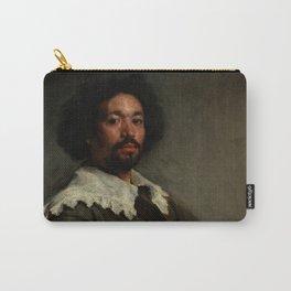 """Diego Velázquez """"Portrait of Juan de Pareja"""" Carry-All Pouch"""