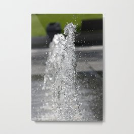 Water8 Metal Print